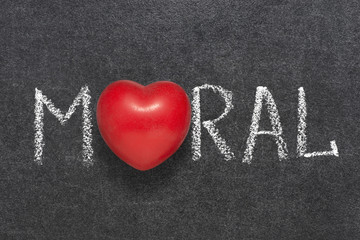 moral word heart