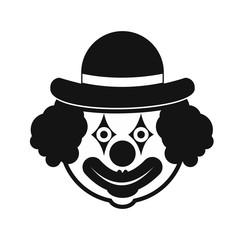 Clown simple icon