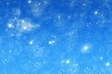 Image of a beautiful starry sky