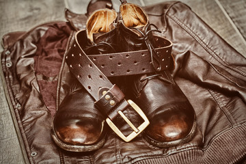 Casual men's clothing, shoes and accessories