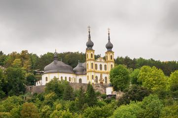 Wallfahrtskirche Mariä Heimsuchung (Käppele) in Wurzburg, Unterfranken, Deutschland