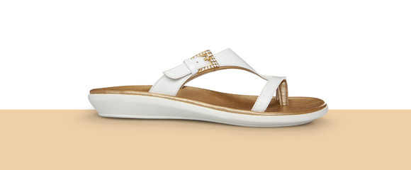 Gold style daily flip flops slipper
