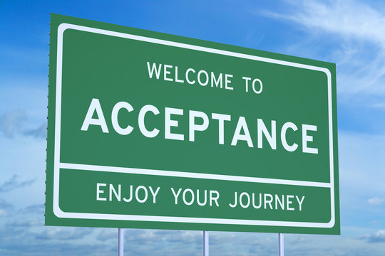 Welcome to Acceptance concept