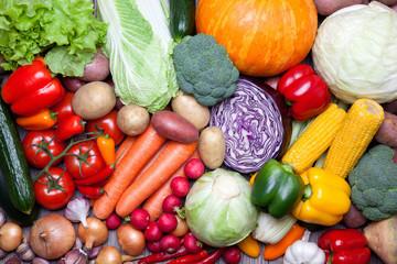 Foto op Plexiglas Groenten Fresh vegetables.