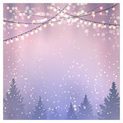 Christmas Background. Vector illustration, eps10