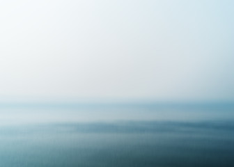 Empty morning ocean abstraction background