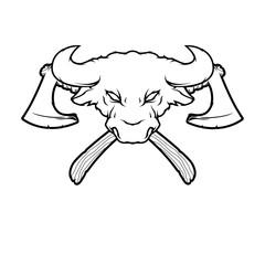Bull and Axes