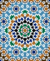 Zagora Seamless Pattern Eight