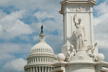Nation Capitol building in Washington DC, USA