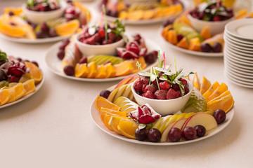 fruit sweet table set