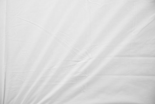 White Wrinkled Fabric Texture f