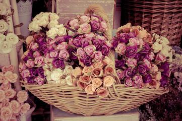 Vintage old flower backgrounds -