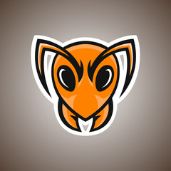 Vector illustration of ant. Sport mascot.
