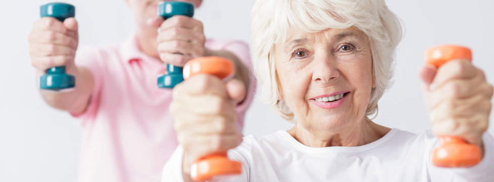Seniors are active and healthy