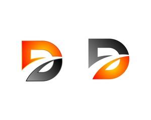 Swoosh D Letter Logo