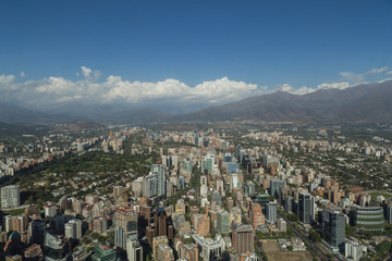 View from Gran Torre Santiago