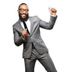 business black man dancing