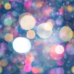 Abstract Xmas backgrounds witn beauty holidays bokeh