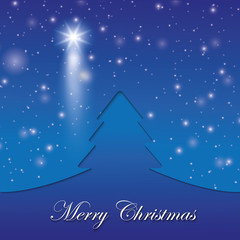 vector the background. Marry Christmas.