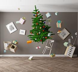 Christmas  zero gravity