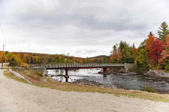 Bridge across Androscoggin River