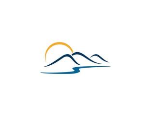 Sun mountain logo