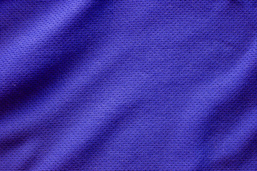 Sport clothing fabric texture background, top view of cloth text