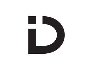 ID Letter Identity Monogram Logo