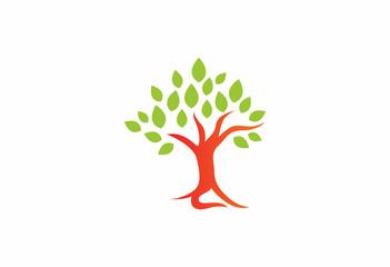 oak tree of life nature logo
