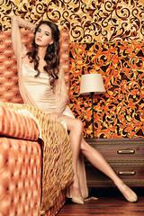 lady in peignoir