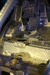 Metal automobile body