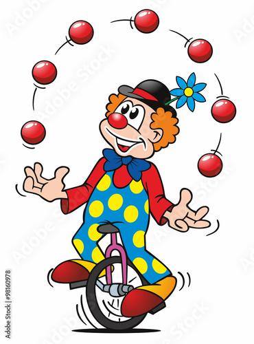 Jongleur clown stockfotos und lizenzfreie bilder auf - Image jongleur cirque ...