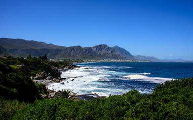 a seascape of the cape peninsula