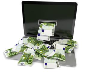 Notebooki Geldscheine