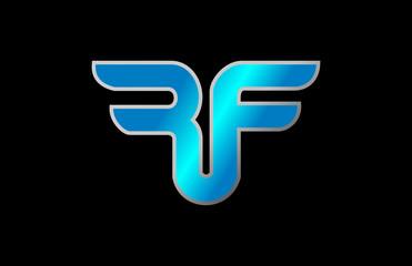 Rf Logo Stock Vector 392547613 - Shutterstock