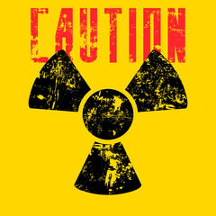radiation sign.