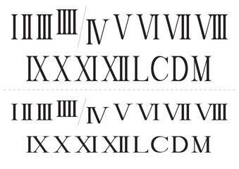 Roman isolated numbers set
