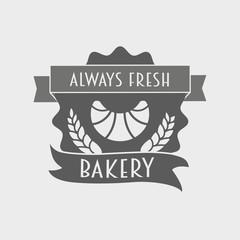 Bakery Retro Label, logo or badge