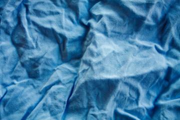 Crumpled fabric texture