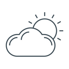 Weather casting icon