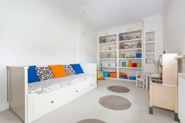 Bright and colorful kid's room