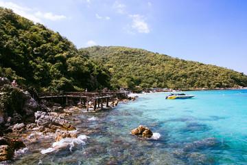Остров, море, пляж, горы, отпуск, отдых, острава