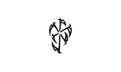 tribal line tatto design