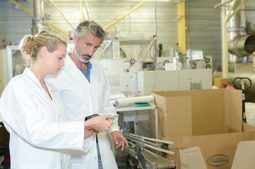 packaging workers