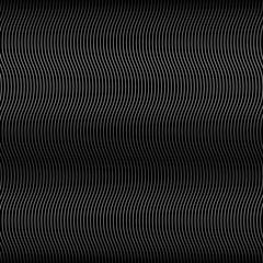 Wave Black Line Background
