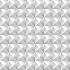 Geometric pattern of bulk pyramids