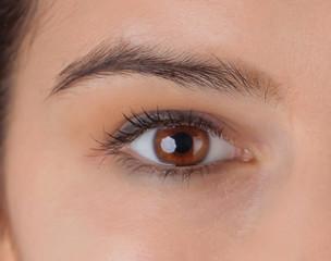 Pretty woman eye