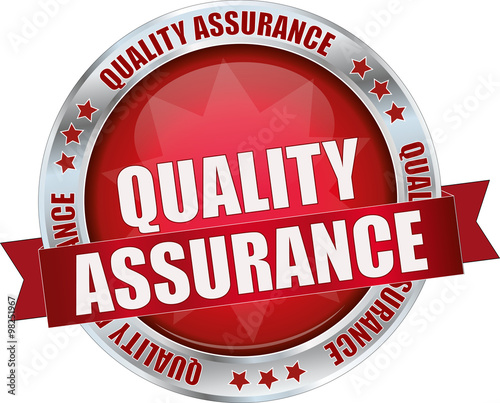 Quality Assurance Banner And Icons Stock Illustration ...