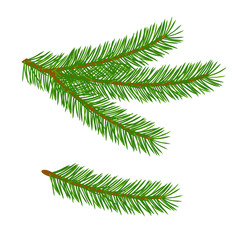 The tree branch design element