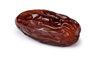Dried date fruit isolated
